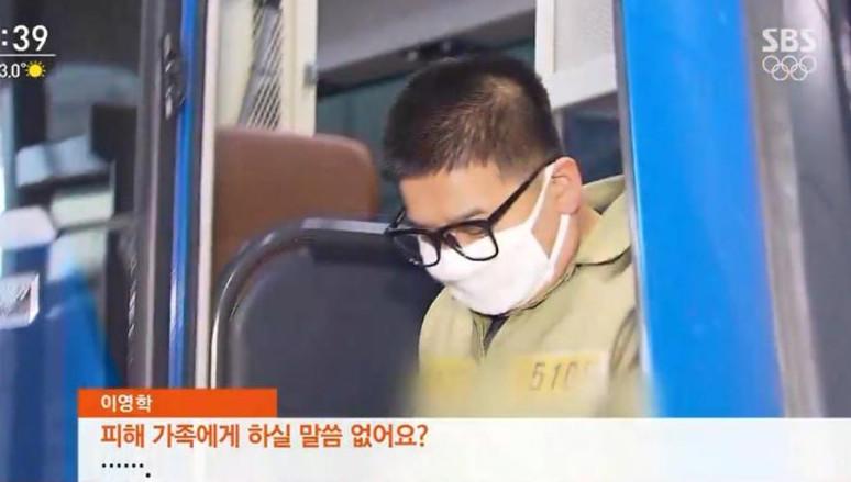 """어금니 아빠 이영학, 아내 학대 정황 """"사체 곳곳에 음란 문구 문신"""""""
